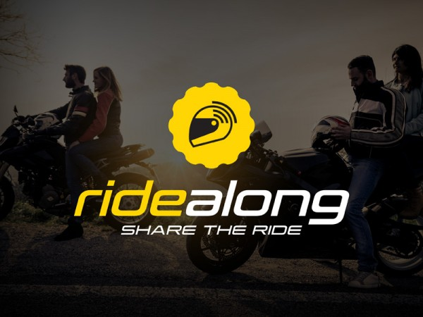 <span>RideAlong Logo Concept and Landing Page</span><i>→</i>
